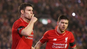 James Milner Alberto Moreno Liverpool