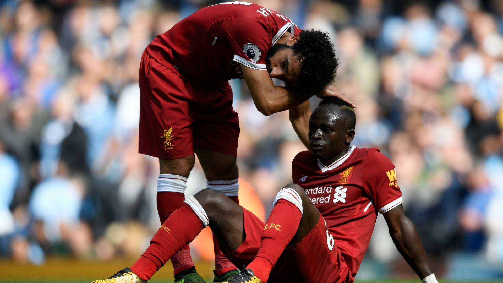 Sadio Mane Mohamed Salah Manchester City Liverpool