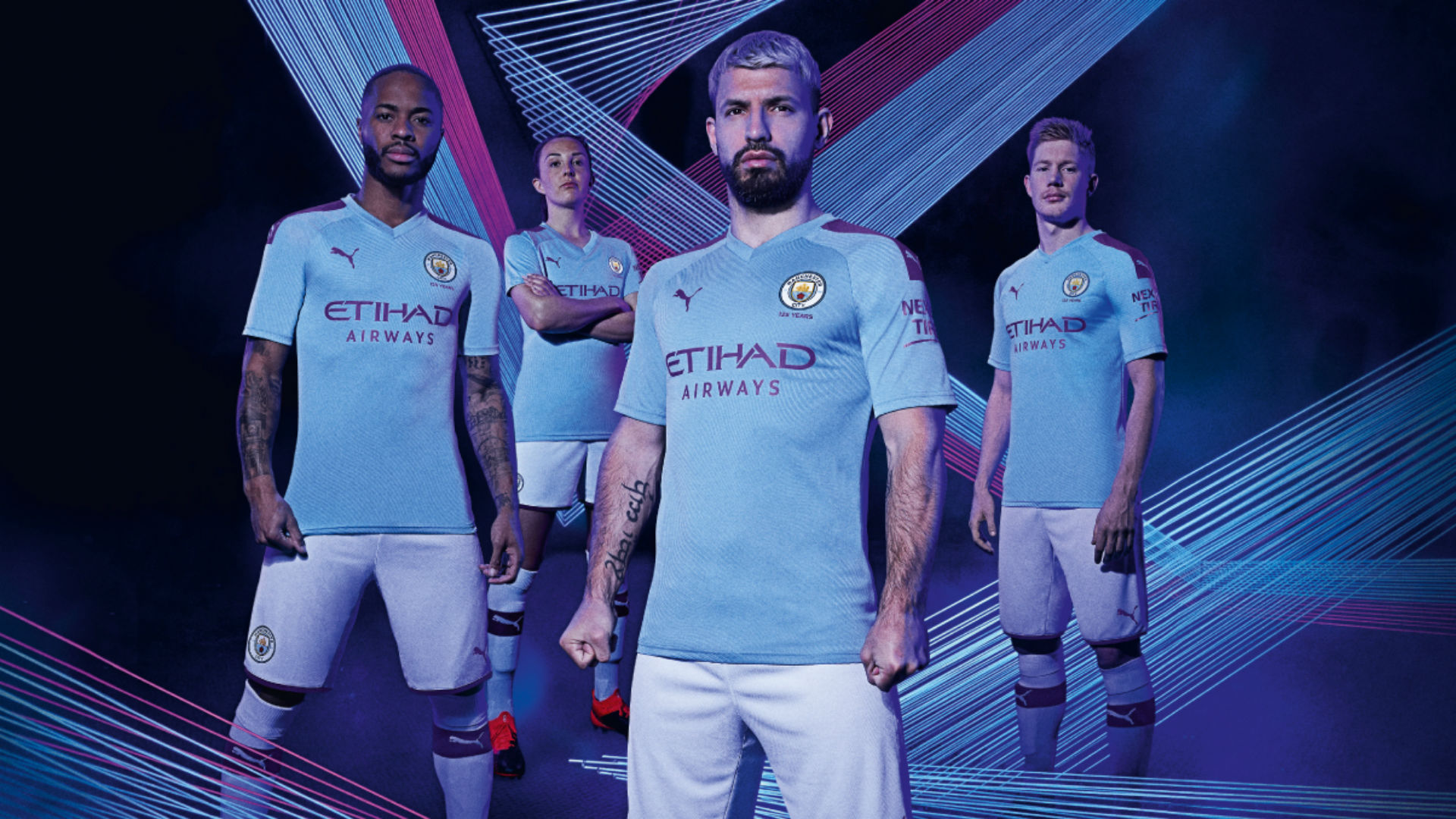 Man City Kits 2019-20: Treble Winners Reveal 125-year Anniversary Home And Away Shirts As Sergio