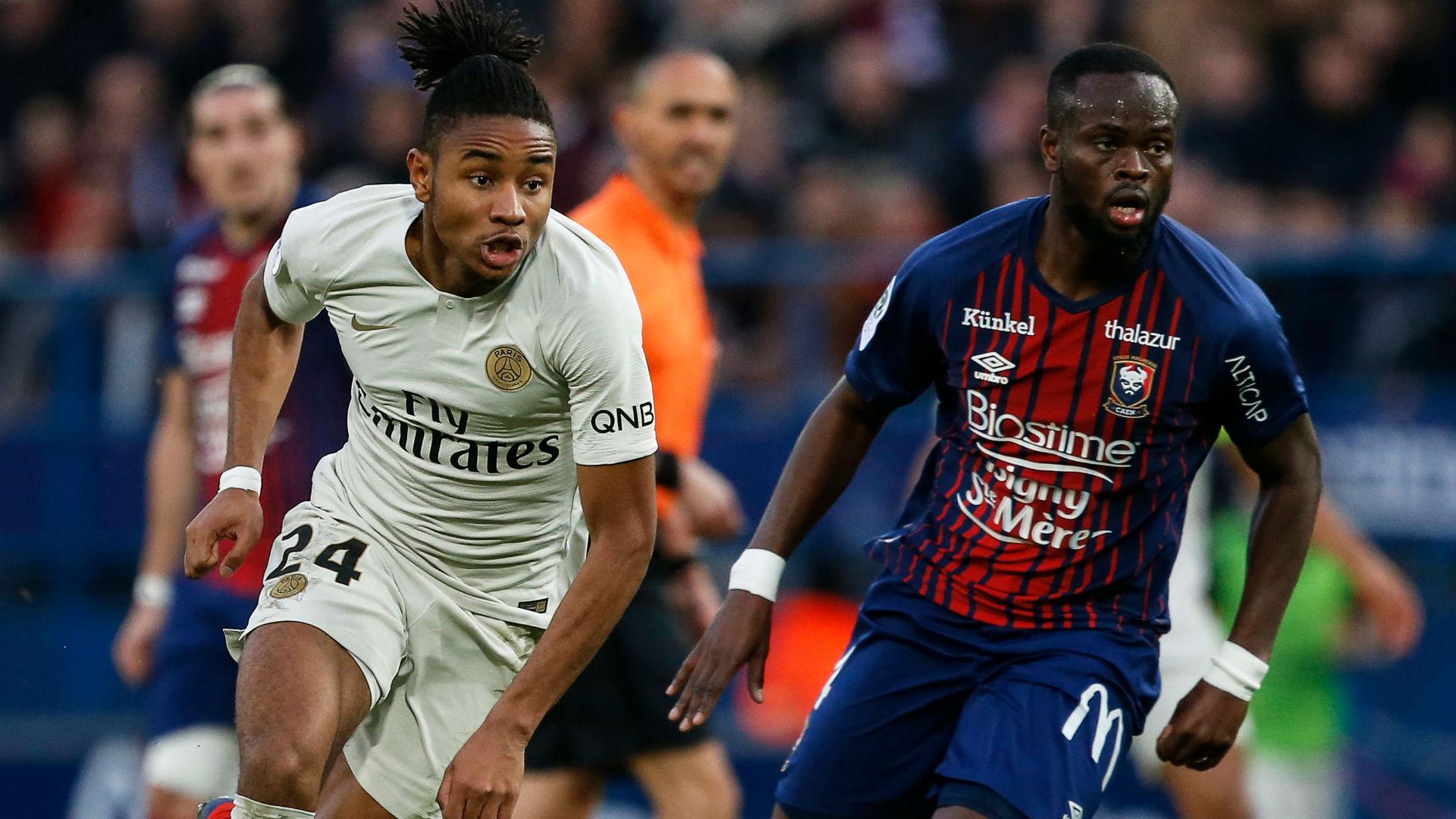 Christopher Nkunku Caen PSG Ligue 1 02032019