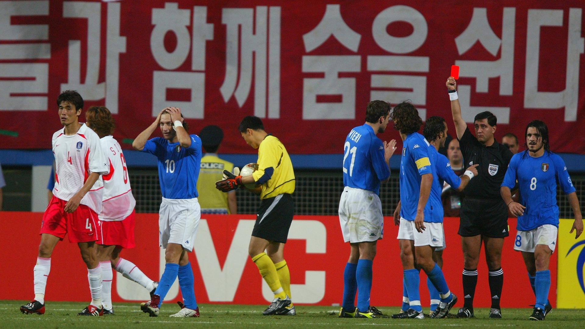 Korea Selatan vs. Italia 2002