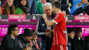 Robert Lewandowski Jupp Heynckes Bayern Munchen