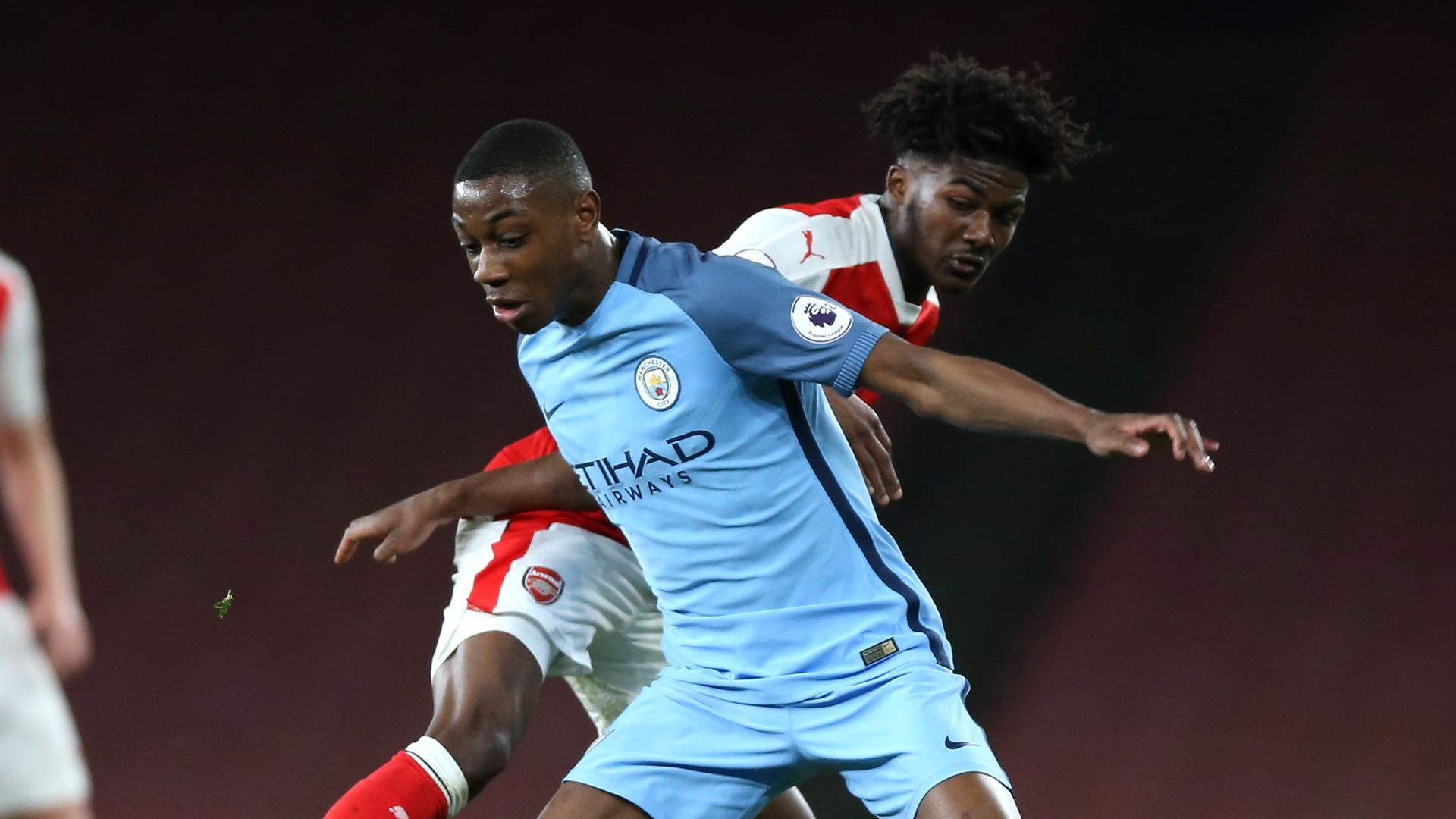 Denzeil Boadu Arsenal Manchester City 031317