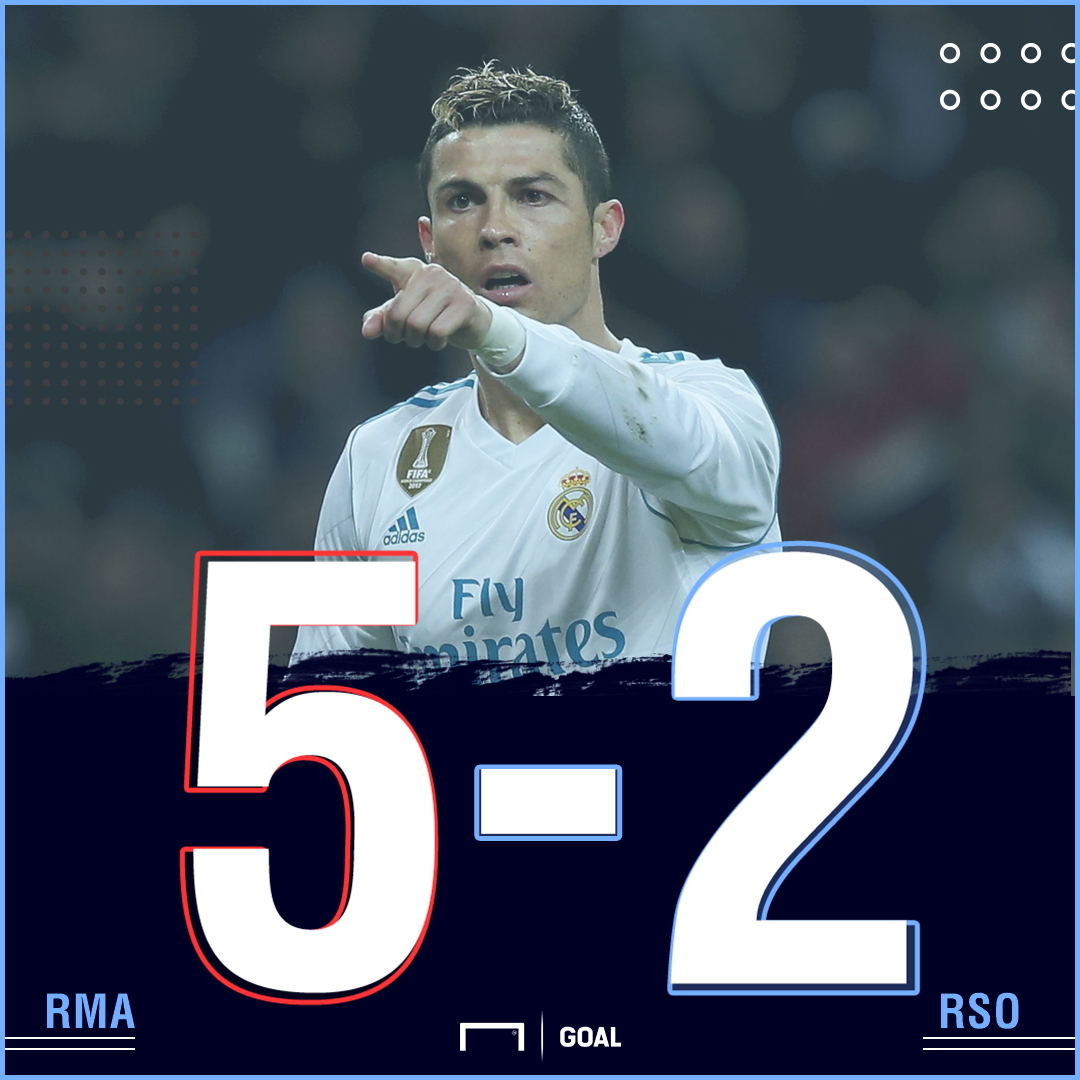 Real Madrid RS final score
