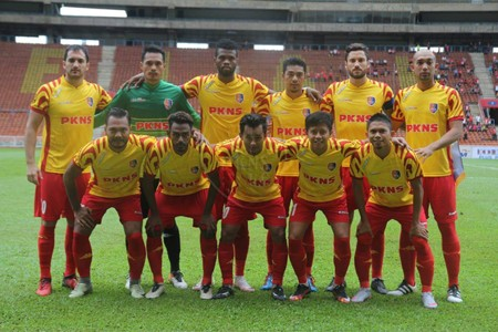 PKNS first eleven against Kelantan 27/1/2017