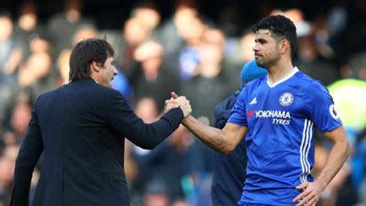 Diego Costa transfer: Chelsea boss Antonio Conte laughs of