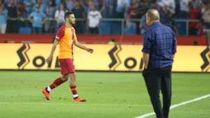 Younes Belhanda Fatih Terim Galatasaray 08012018
