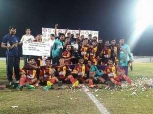 Bengal lift the 71st Santosh Trophy