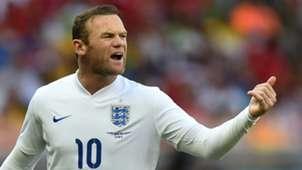 Wayne Rooney England World Cup 2014
