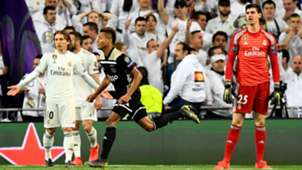 Thibaut Courtois Luka Modric Real Madrid Ajax UCL 05032019