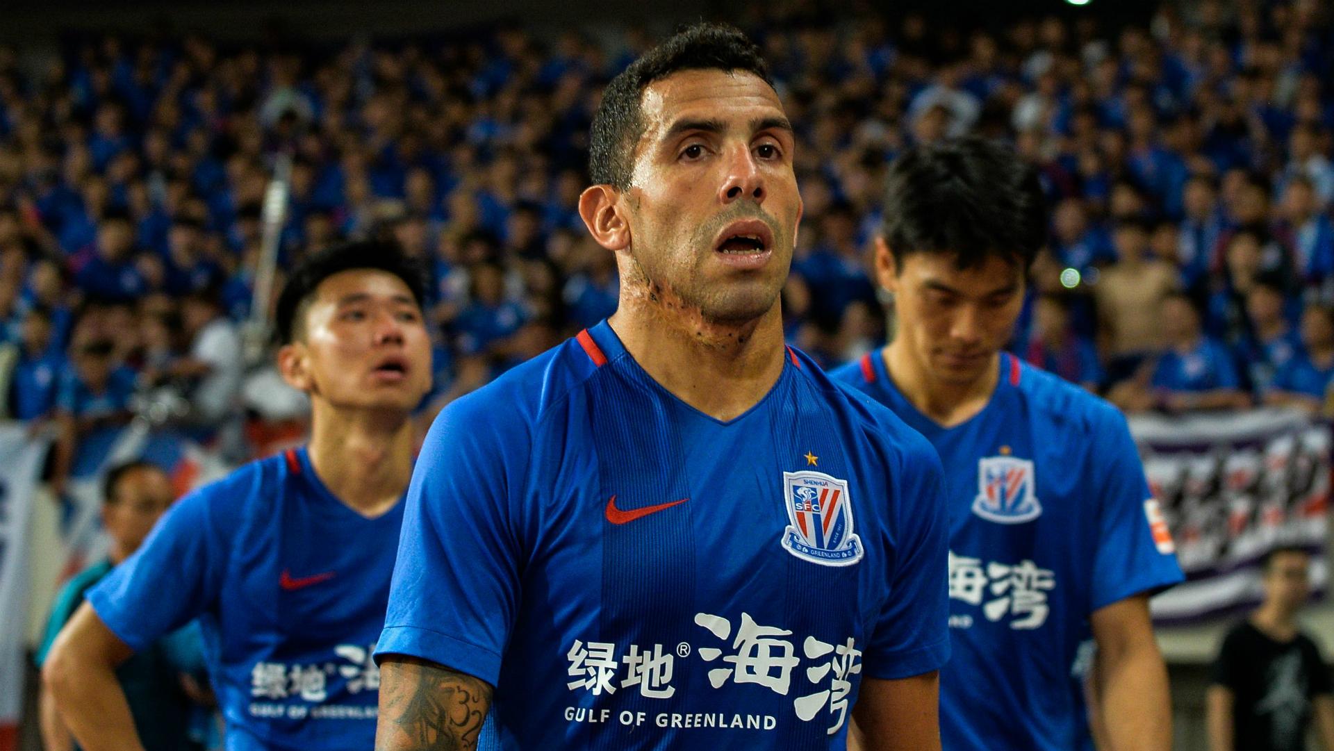 Shanghai Shenhua, Carlos Tevez pas tendre avec le niveau du championnat chinois