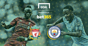 Bet 365 Manchester City v Liverpool