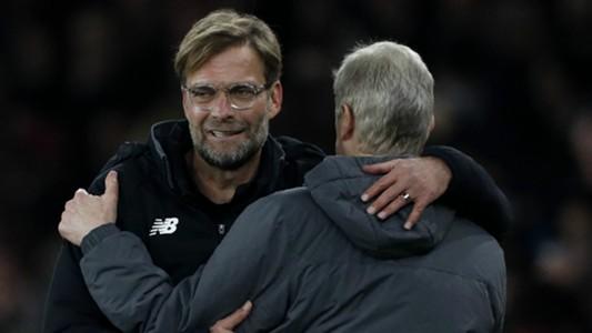 Jurgen Klopp Arsene Wenger Liverpool Arsenal