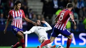 Atletico Real Madrid Rodri Saul Niguez Isco 15082018