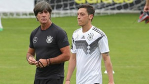 Joachim Low Mesut Ozil Germany