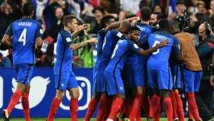 France celebrating France Belarus
