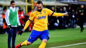 Gonzalo Higuain Bologna Juventus Serie A
