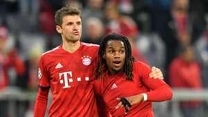 Renato Sanches Thomas Müller FC Bayenr München Champions League 07112018