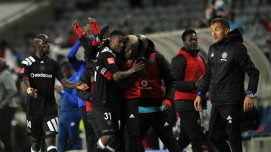 Gabuza scores for Pirates againist Chippa