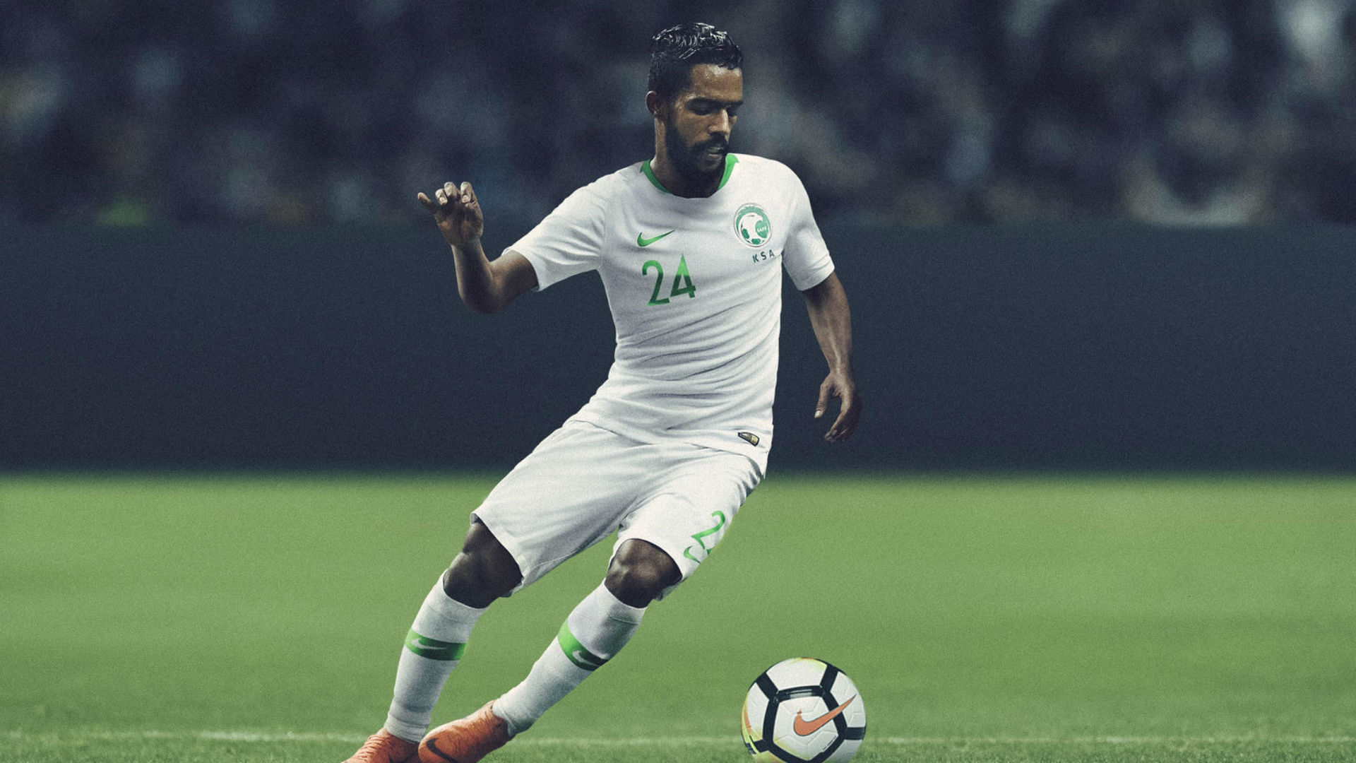 Saudi Arabia home World Cup 2018 kit