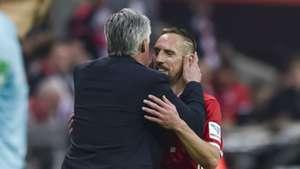 Carlo Ancelotti Franck Ribery Bayern Múnich