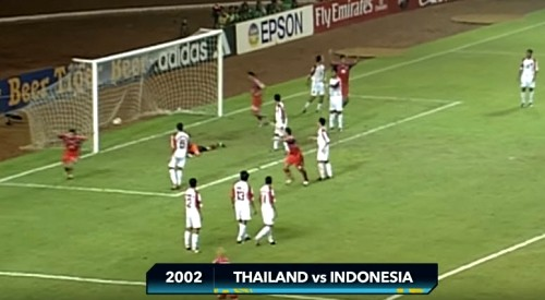 อินโดนิเซีย - ไทย AFF Suzuki Cup 2002