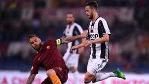 De Rossi Pjanic Roma Juventus Serie A