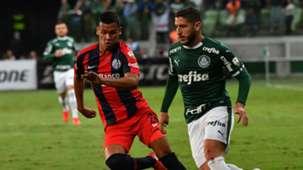 Zé Rafael Marcelo Herrera Palmeiras San Lorenzo Libertadores 08052019