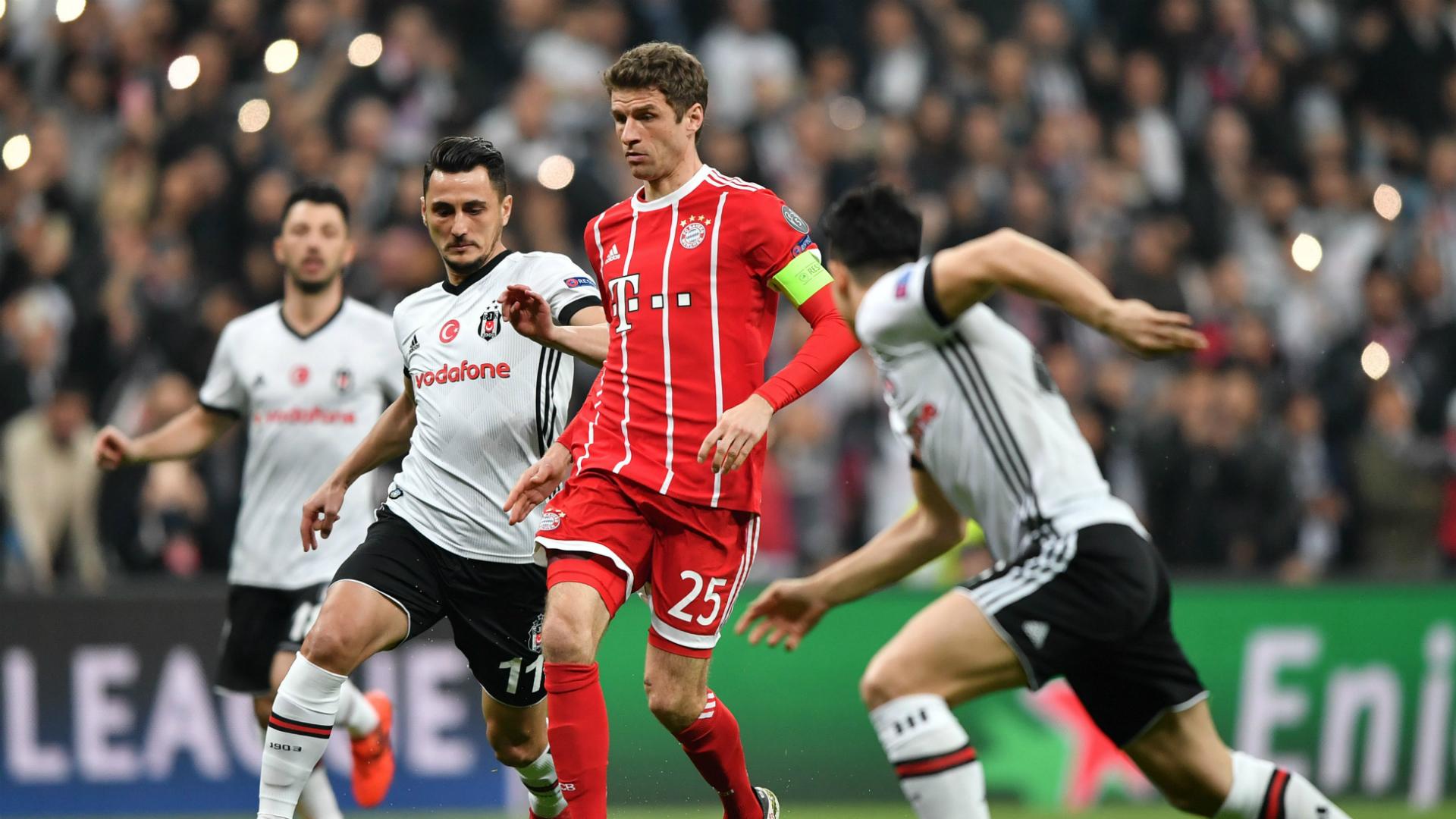 Thomas Muller Besiktas Bayern Munich UCL 03142018