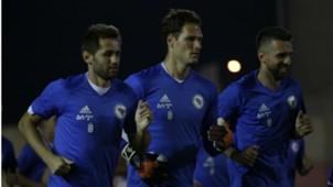 Bosnia-Herzegovina training