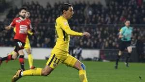 Angel Di Maria Rennes PSG Coupe de la Ligue 30012018