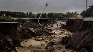 Comodoro Rivadavia inundaciones alud