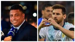 Lionel Messi Ronaldo Luis Nazario De Lima