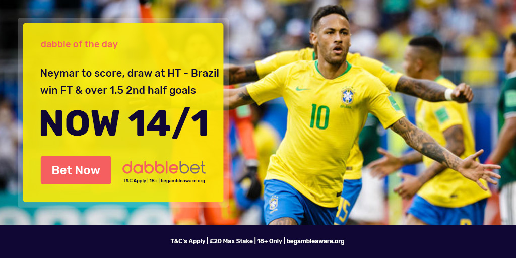 Brazil Belgium dabble of the day graphic