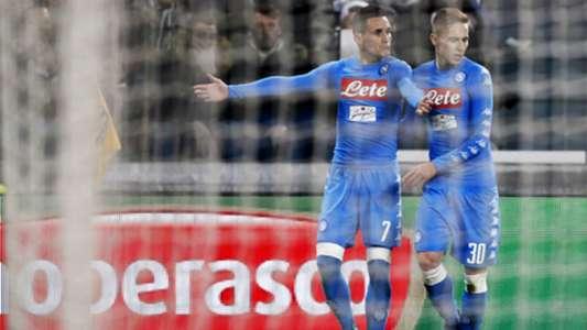 Josè Callejon Marko Rog Juventus Napoli Coppa Italia