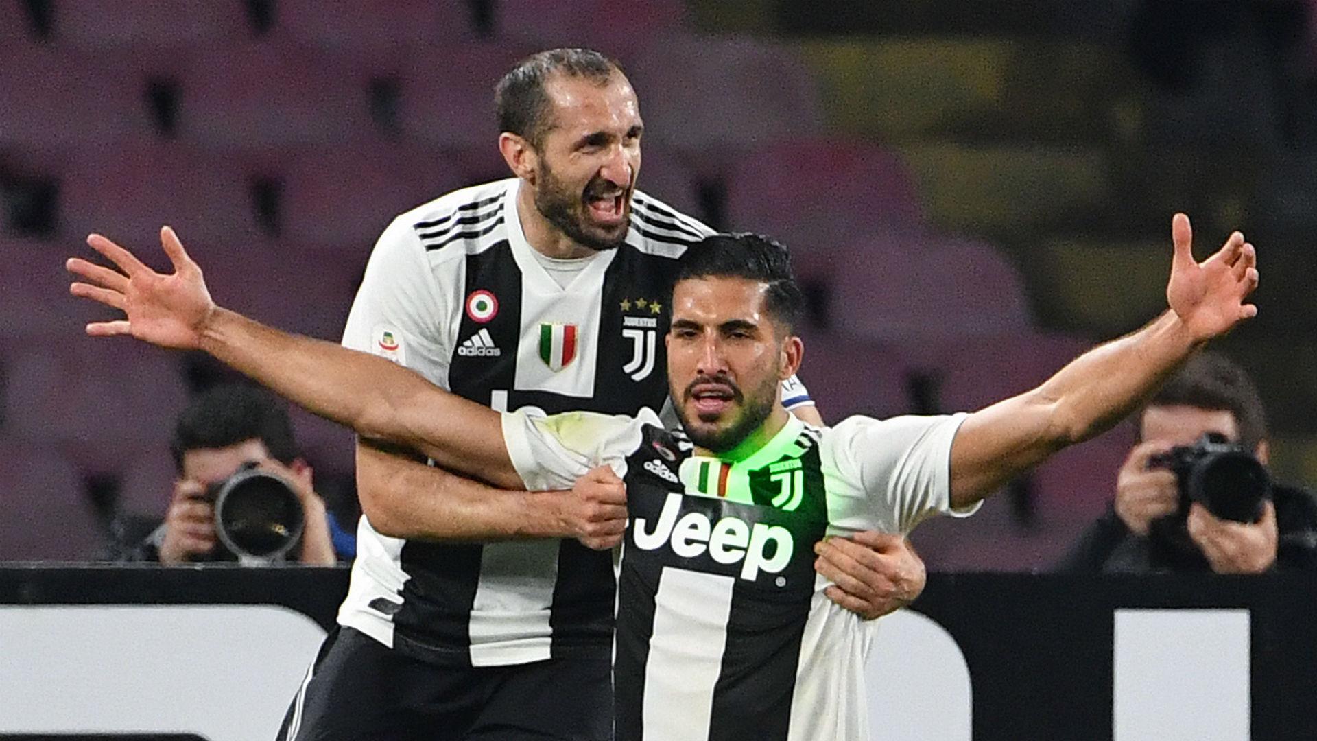 Emre Can Juventus Napoli