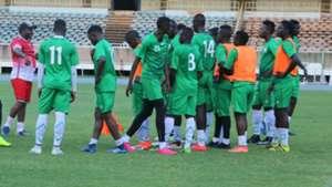 Francis Kimanzi and Kenya U-23.
