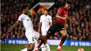 Presnel Kimpembe Marcus Rashford Manchester United PSG UEFA Champions League 12022018