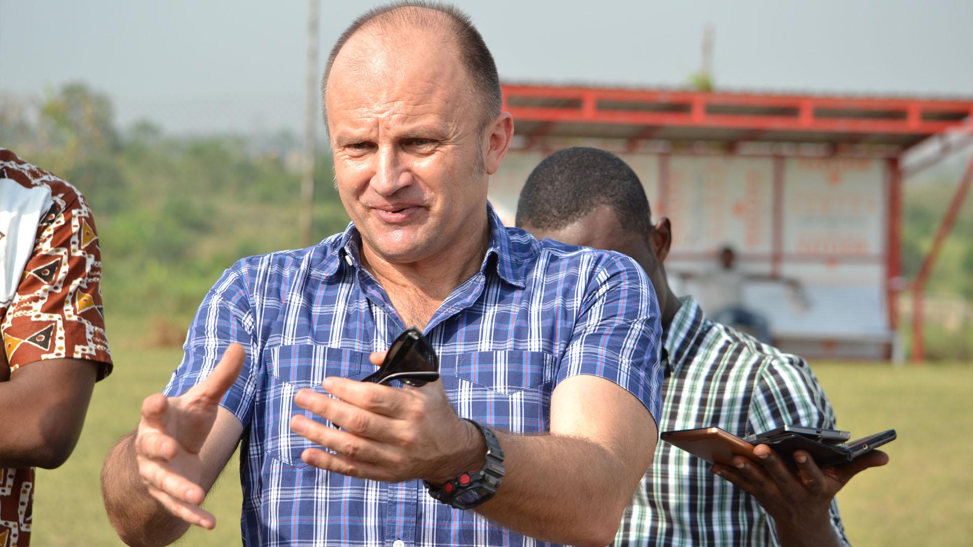 Kotoko coach Zdrakov Lugarusic