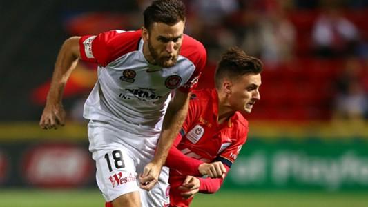 Robert Cornthwaite Jordan O'Doherty Western Sydney Wanderers Adelaide United A-League