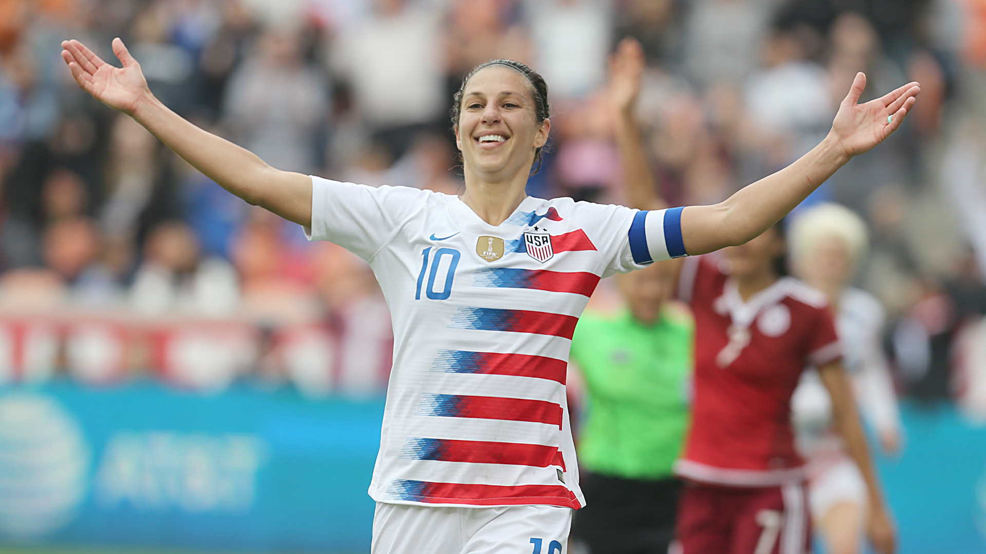 Carli Lloyd scores 100th worldwide goal for USWNT