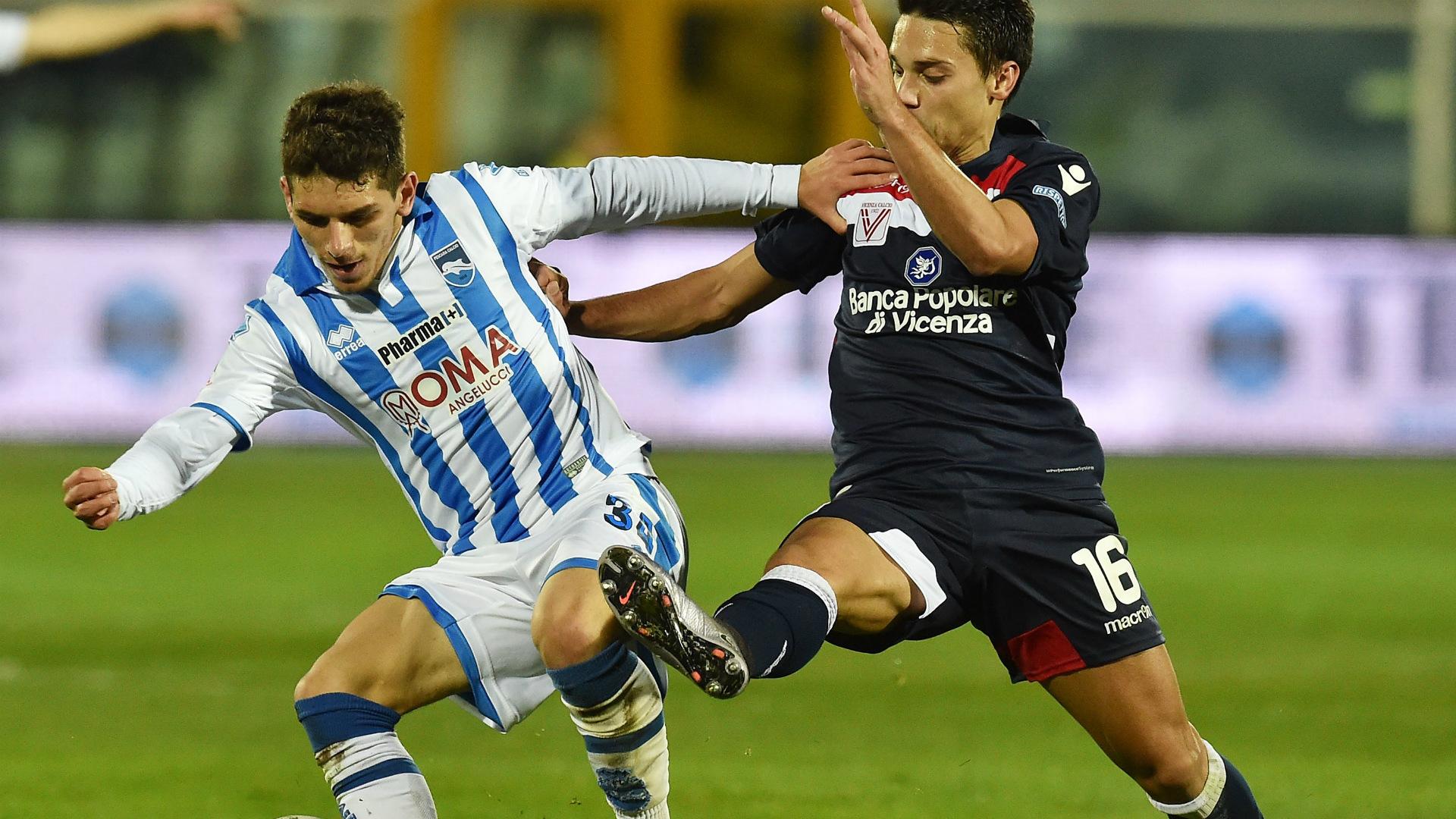 Lucas Torreira Pescara Serie B 2016