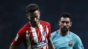 Saul Niguez, Lionel Messi