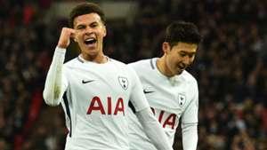 Dele Alli Son Tottenham Watford