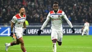 Maxwel Cornet Memphis Depay Lyon Manchester City Champions League 27112018