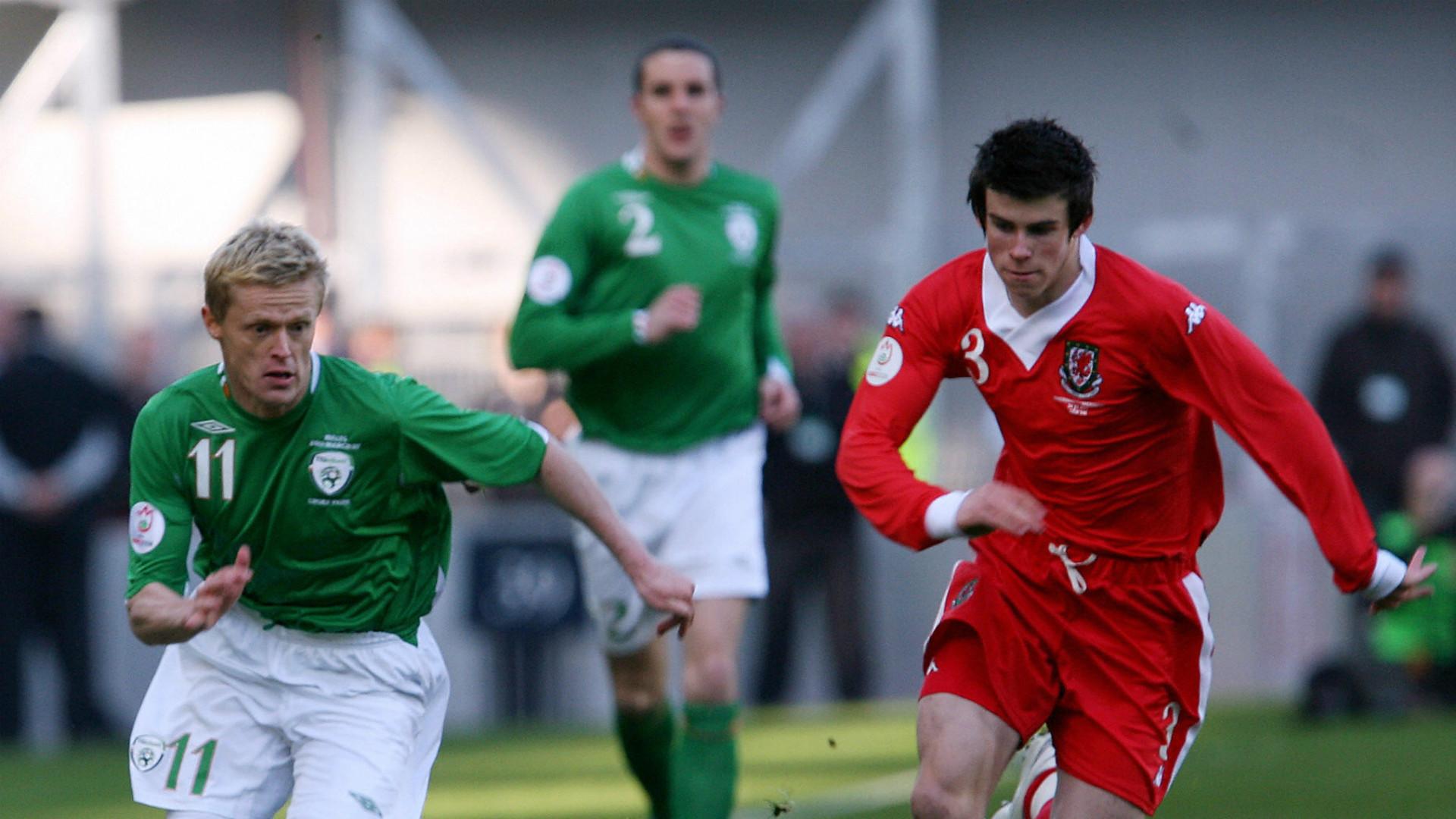 Damien Duff Gareth Bale Republic of Ireland Wales 24032007