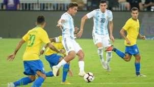 Dybala Argentina Brasil Amistoso internacional 16102018
