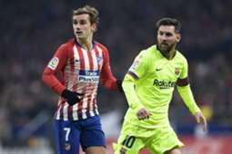 MESSI GRIEZMANN ATLETICO MADRID BARCELONA LALIGA