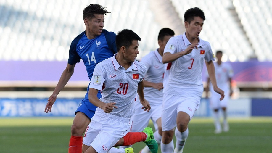 Amine Harit U20 France U20 Vietnam