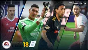 Asian players FIFA 18